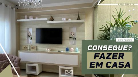 Como fazer lindos móveis sem grandes máquinas?