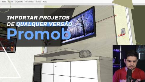 Promob - Importar Projetos de Qualquer Versão para Versão Atual ou exportar para outras.