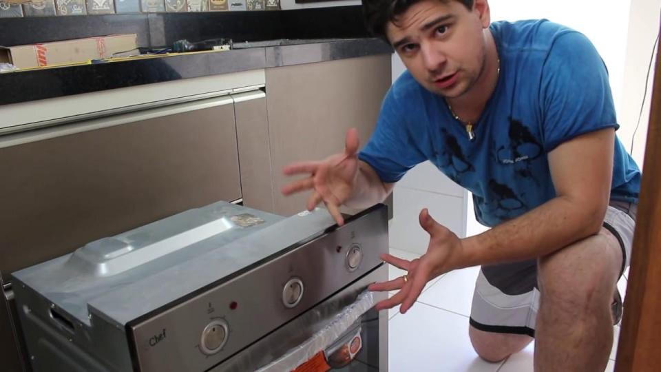 Como Embutir Forno em Cozinha Planejada