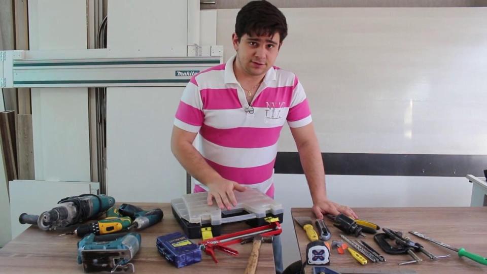 Maquinas e Ferramentas para Começar a Fazer Moveis Planejados a partir de casa