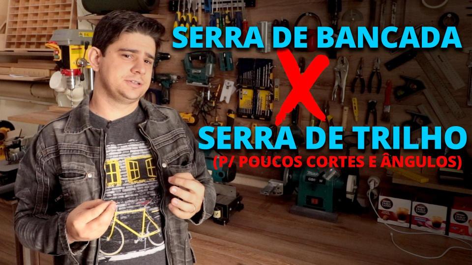 SP ou Circular de Bancada Para Fazer Poucos Cortes e Cortes em Ângulos /Chanfros